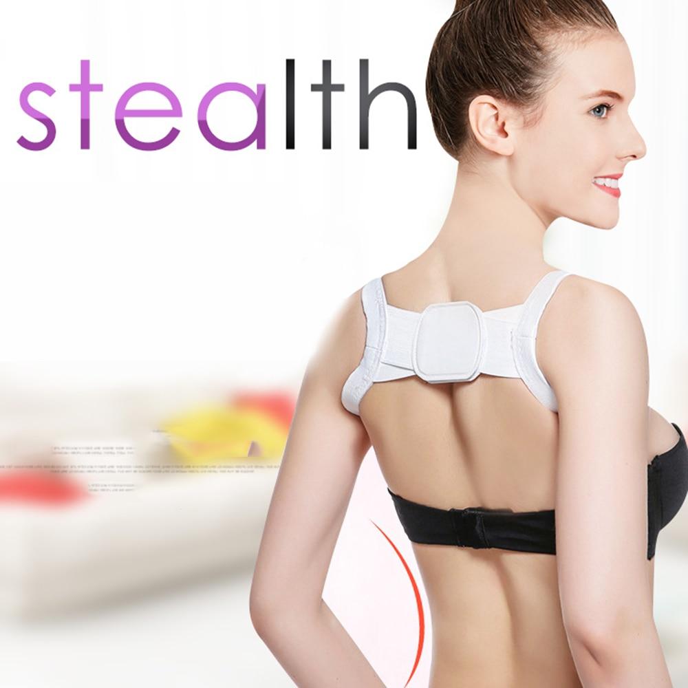 Invisible Back Posture Orthopedics Shoulder Corrector Adult Children Corset Column Support Belt Correction Strap Fitness Gear