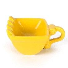 Новинка 280 мл экскаватор кружка ведро модель керамическая кружка сигара виски пепельница кофе чай чашка подарок на день рождения чашка для чая сигарета держатель