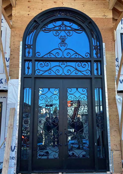 Shanghai Hench Brand China Factory 100% Custom Made Sale Australia Old Iron Door