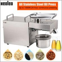 XEOLEO масло пресс машина маслобойня бытовой нефти машина арахиса/оливковое масло чайник использовать для кунжутное/миндаля/орех 1500W 110/220V