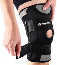 WINMAX Sports Kneepad Adjustable Breathable Knee Stabilizer Strap Patella Elastic Support Fitness Open Patella Brace Protector