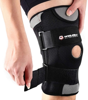 WINMAX Neoprene Elastic Open Patella Adjustable Basketball Kneepad Rodilleras Soutien Joelheira Knee Protector Support Pad Brace
