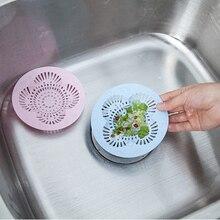 PVC Flower Type Hair Stopper Catchers Bathroom Kitchen Bathtub Sink Strainer Filter Floor Shower Drain Covers Prevent Clogging