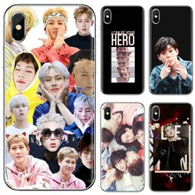 Goede Siliconen Telefoon Case Voor Huawei Mate Honor 4C 5C 5X 6X 7 7A 7C 8 9 10 8C 8X 20 Lite Pro Monsta X Kpop Jongen Groep(China)