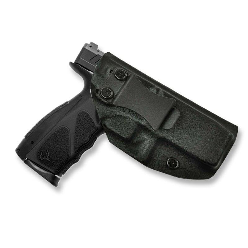 IWB kydex Fondina Per Taurus TS9 All'interno la Cintura Occultamento clip di Portare Nascosto Destra Disegnare A Mano