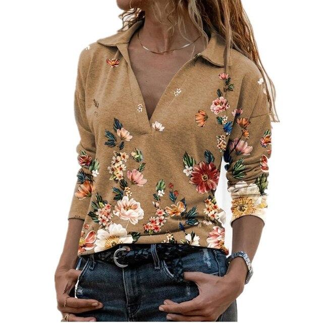 Aprmhisy Graphic Shirts Women Autumn New Long Sleeve Casual Streetwear Blouse Shirt Blusas Femininas 6