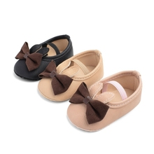 Baby Shoes Autumn Soft Sole Girl PU Cute Rabbit First Walker