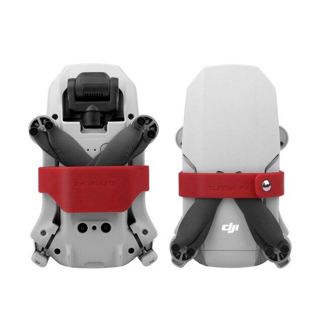 Soporte de hélice para Mini hélices de DJI Mavic, Clip de silicona, protección de fijación, accesorios para Drones