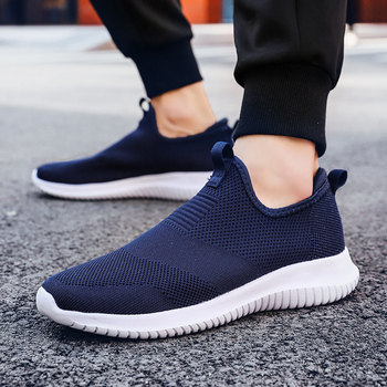 Spring Sneakers Men Casual Shoes Air Mesh Shoes For Men Loafers Black Fashion Sneakers Mens Trainers Sapato Masculino