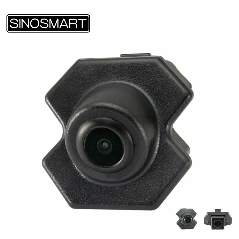 SINOSMART HD Car Front View Camera for for Chevrolet Cruze or Malibu Install in Factory Original Camera Hole/Front Grille
