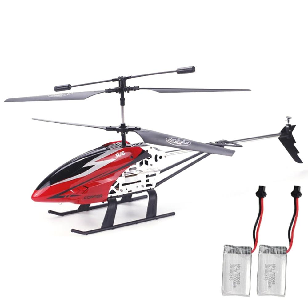 Wireless Control RC Helicopter 3.5 Channel Large Remote Control Helicopter ABS Alloy Drop Resistance RC Helicopter Lighting Toy