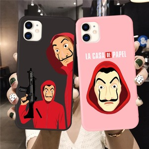 Spain TV Money Heist House Paper La Casa de papel phone case for iPhone 11 Pro Max soft Cover for iphone X XS MAX XR 7 6S 8 Plus(China)
