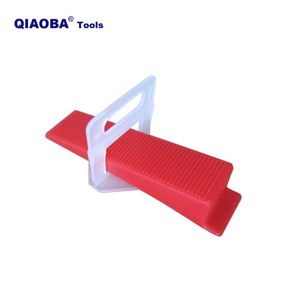401pcs Tile Leveling System 1.5mm 300pcs Clips+100pcs Wedges +1piece Plier Plastic Tiling Tools Tile Spacer
