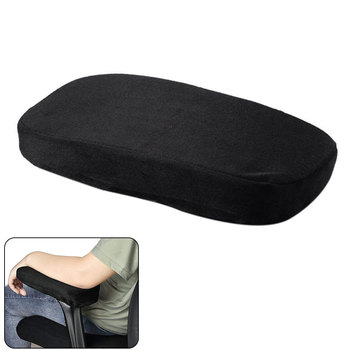 Forearms Support Covers Chair Armrest Pad Office Memory Foam Relief Pressure Home Ergonomic Anti Slip Cushion Soft Elbow Pillows