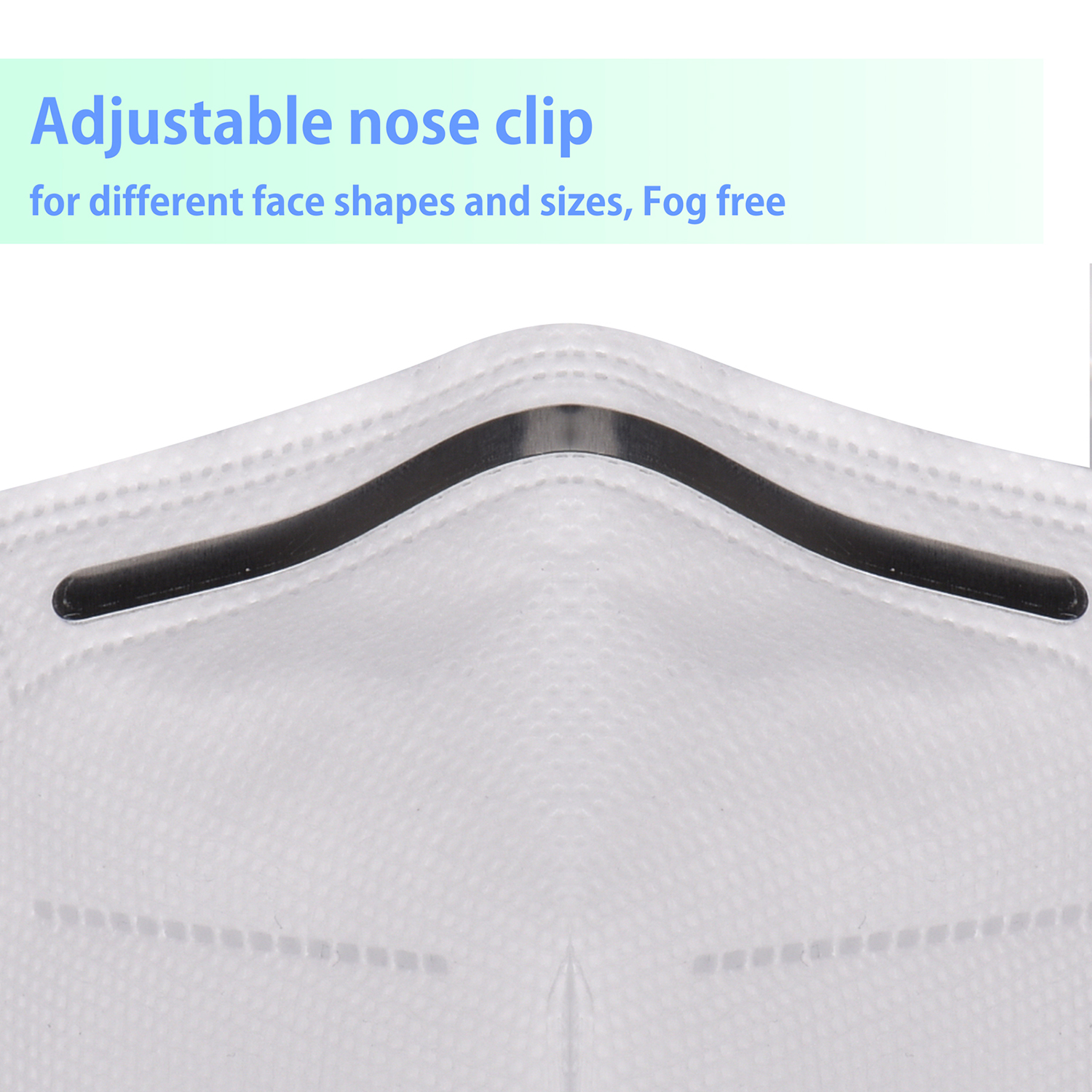 1 - 20 pcs Disposable Mask 95% Filtration Face Mask 4 Layers Non-woven Masks Anti PM2.5 Dust Face Cover Safety Mouth Mask 2