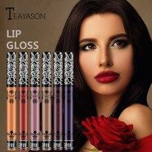 6 Colors Liquid Lipstick Waterproof Womens Beauty Long Lasting Lip Liquid Matte Lipstick Lip Gloss Makeup Lips Shiny Lipstick