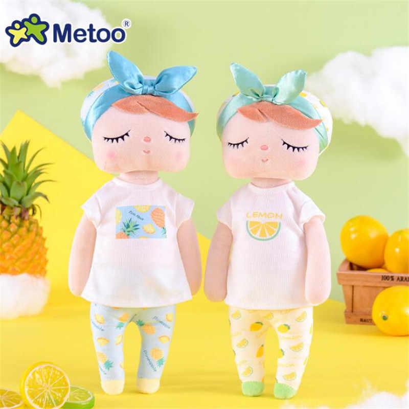 Metoo Dolls 2019 Angela Plush Toys Rabbit Stuffed Animals Sweet Fruit Rabbit Cute Dreaming Girl Children Gift 34CM