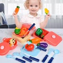 Детский игровой кухонный набор из ролевых игр еда кухонная посуда