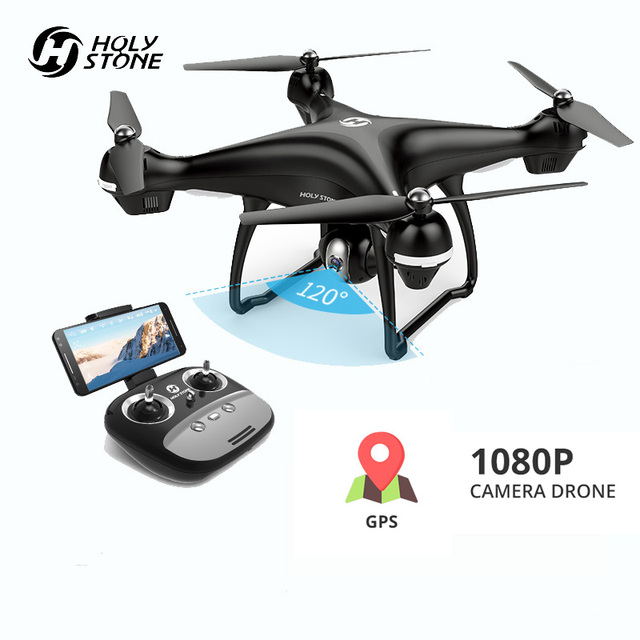 Holy Stone HS100 GPS Drones With 1080P HD Camera FPV Wifi Drone GPS RC Quadcopter 120°FOV Wide Angle RC Helicopter Quadrocopter
