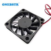 6010 бесщеточный вентилятор DC 5 в 12 В 24 в 60X60X10 мм центральный процессор для ПК Корпус Вентилятор охлаждения 6 см 60 мм USB 2PIN 3PIN вентиляторы охлаждения