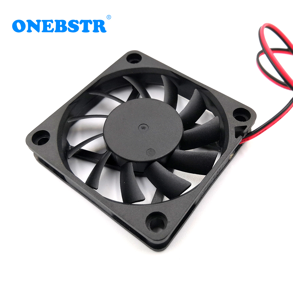 6010 Brushless Fan DC 5V 12V 24V 60X60X10mm Computer PC CPU Case Cooling Fan 6cm 60mm USB 2PIN 3PIN Cooler Fans  Free Shipping