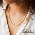 Цепочка-чокер женская из нержавеющей стали, изящное простое ожерелье, хороший подарок для друзей, колье