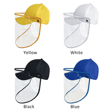 2 In1 Anti-spitting Wind Sand Mask Anti-uv Multi-function Protective Cap Hat Support for Dropshipping