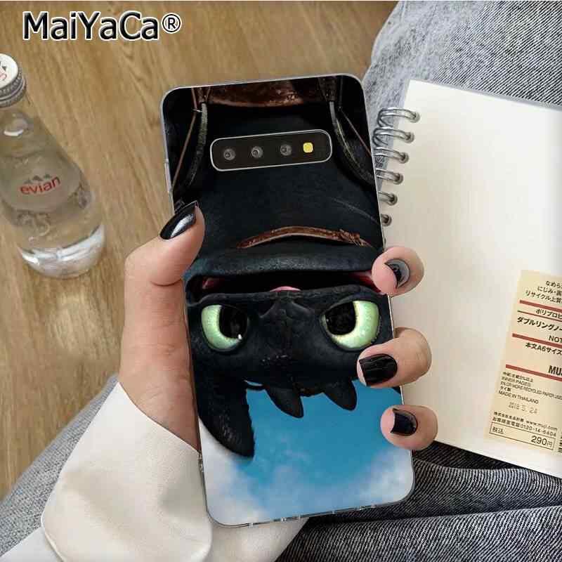 MaiYaCa 歯のないあなたのドラゴン fundas 電話ケース S10 E S9 プラス S6 エッジプラス S7edge s8plus S10 プラス S5