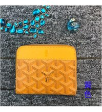 2021 new fashion Korean dog tooth small coin purse Goya short zipper wallet