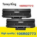 2 шт. 106R02773 тонер-картридж совместимый для Xerox 3020 3025 Phaser 3020 WorkCentre 3025 WC3025 заправка лазерных принтеров картриджи