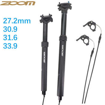 Zoom Mtb Dropper Seatpost Height Adjustable Internal Routing 100mm Travel Bike Dropper Seat Post 27.2 28.6 30.9 31.6 33.9 - DISCOUNT ITEM  31 OFF Sports & Entertainment