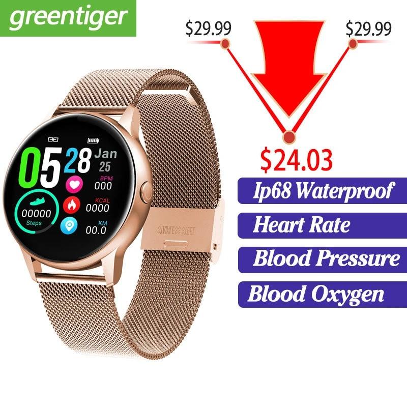 Dt88 Smart Watch Round Touch Screen Smartwatch Heart Rate Intelligent Fitness Tracker Sports Fashion Watch Vs Q8 Q9 Smart Watches Aliexpress