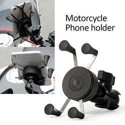 1 Buah Universal Motor Sepeda Motor Sepeda Motocross GPS Ponsel Pemegang Mount Clamp Motor Motor Pemegang Telepon Accessorie