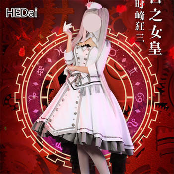 DATE A LIVE Nightmare Tokisaki Kurumi Date·A·Bullet Cosplay Costume White Queen Cosplay Dress Woman Christmas Gift Outfits 1