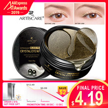ARTISCARE Extravagant Black Pearl Crystal Eye Mask Eye Patches ภายใต้ Eyes Moisturizing Nourishing Anti Aging ริ้วรอยหน้ากาก(China)