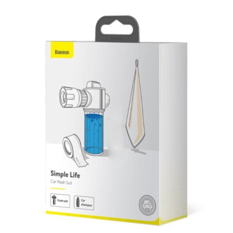 Xiaomi Baseus Water Spray Gun Wash Spray Machine Tools For Car Wash Cleaning Kit