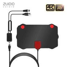 Mini HD Indoor Digital TV Antenna 108P EU +% 2FUS Plug DVB-T% 2FT2 Aerial Install Легко