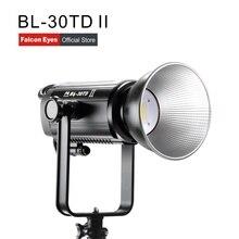 Falcon eyes led studio vídeo fotografia luz de preenchimento 300 w bi color portátil para filme/entrevista fotografia iluminação BL 30TD ii