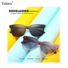 2019 Fashion Vintage Women Sunglasses Brand Design Luxury Square Frame for Ladies Mirror Summer Diving