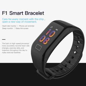 Image 2 - F1 Plus Smart Band Blood Pressure Waterproof Color Screen Sports Bracelet Heart Rate Monitor Wristband