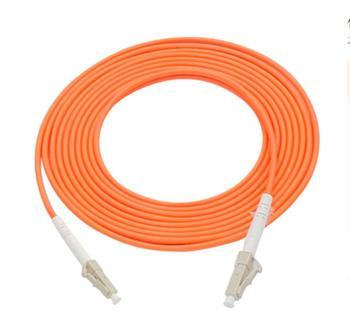 цена на LC/UPC-LC/UPC Simplex 3.0mm OM1 Multimode Fiber Optic Patch Cord 5pcs/lot