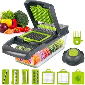 Kitchen Gadget Accessories Multifunctional Vegetable Fruit Cutter Slicer Grater Shredders cocina accesorios de cocina utensilios