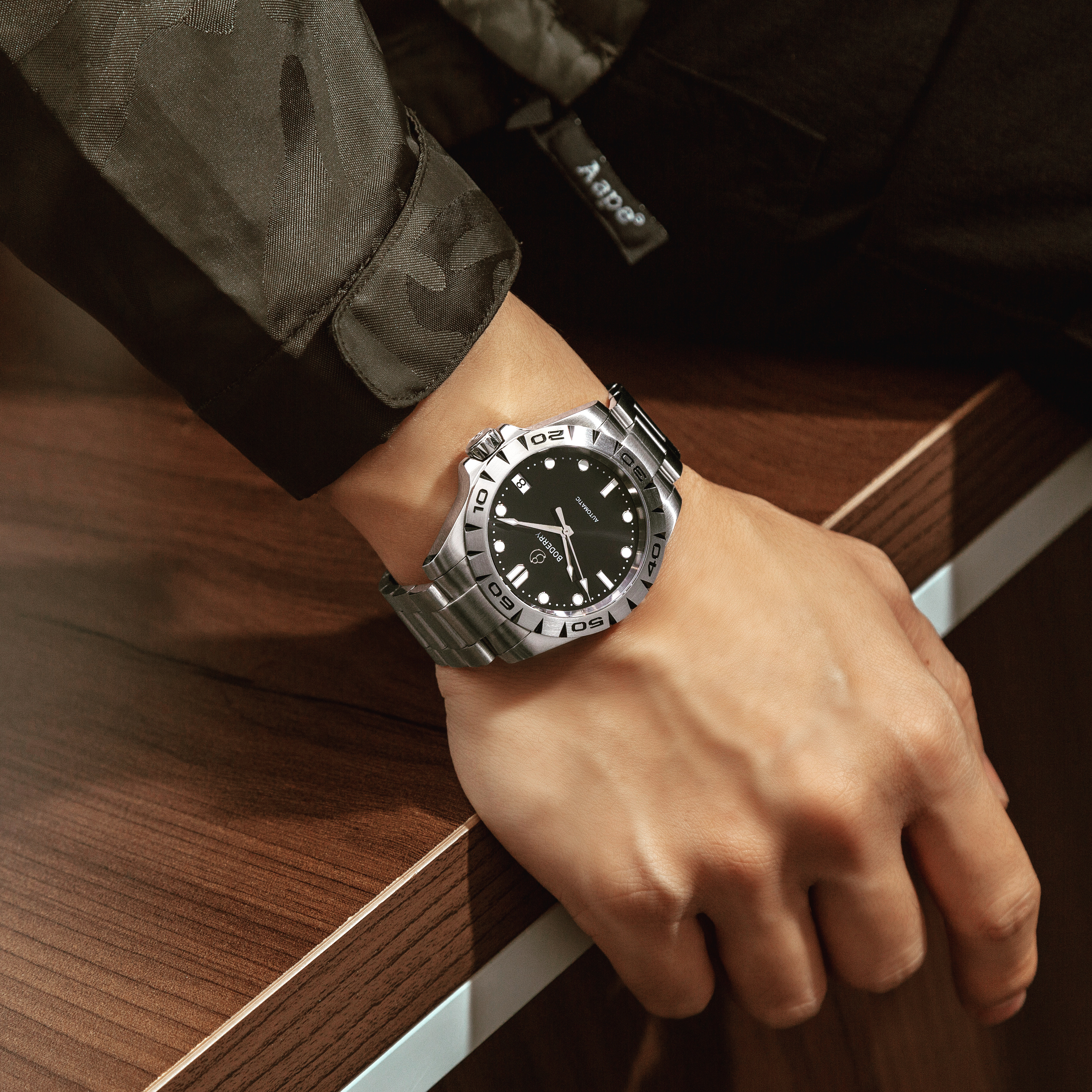 Men Watches Top Brand Luxury Automatic Mechanical Waterproof Fashion Stainless Steel Wrist Watch For Men Clock Relogio Masculino