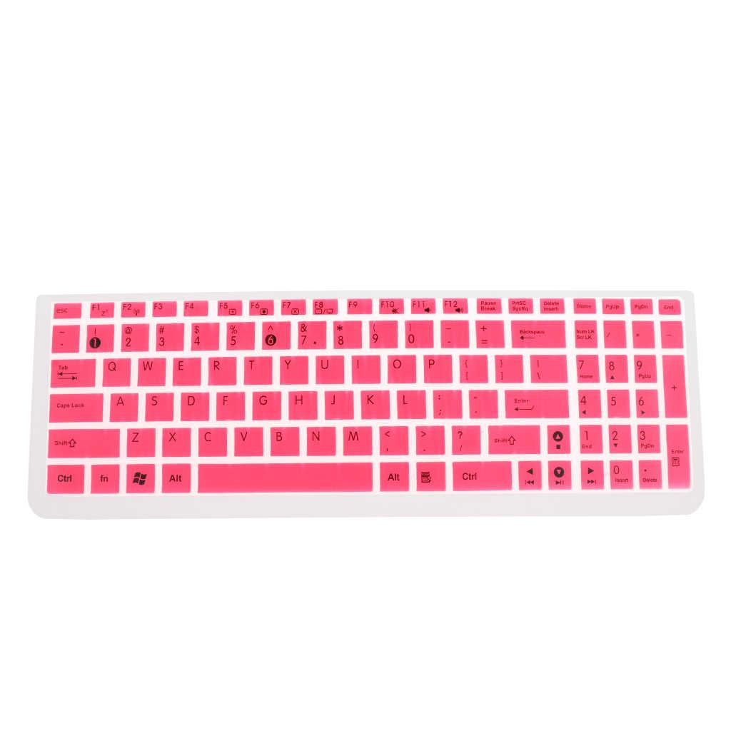Funda protectora de teclado de silicona para ASUS Notebook portátiles PC Protector de teclado película de silicona cubierta de piel