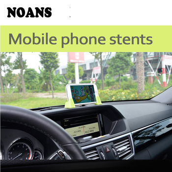 NOANS 1pcs Car Dashboard Mobile Phone GPS Holder Adjustable Bracket For Renault megane 2 3 Kia rio ceed Mitsubishi lancer asx image
