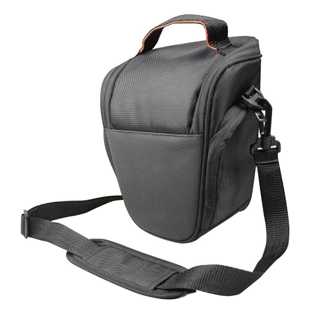 DSLR Camera Bag Fashion Shoulder Cross Digital Case Waterproof W/ Rain Cover DSLR Soft Men Women Bag for Canon Nikon Sony SLR