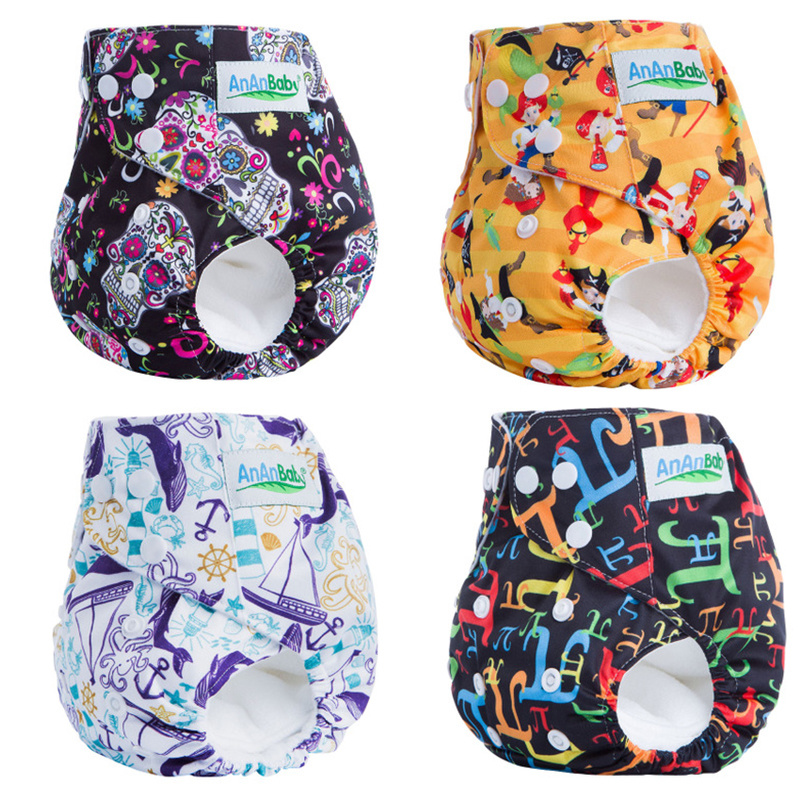 Baby Training Pants Travel Panties Baby Diapers Reusable Adjustable Cloth Diaper Nappies Washable Infant Kids Nappy Eco-Friendly