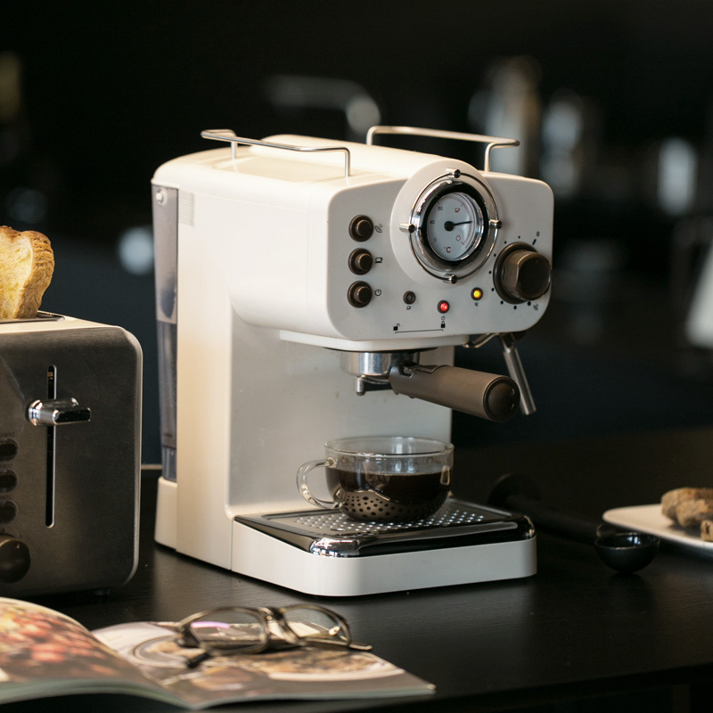 15Bar bomba de presión cafetera italiana semiautomática cafetera Espresso italiano cafetera blanca Guanqin automático Reloj Mecánico Tourbillon Esqueleto reloj de deporte impermeable reloj automático reloj hombre reloj masculino