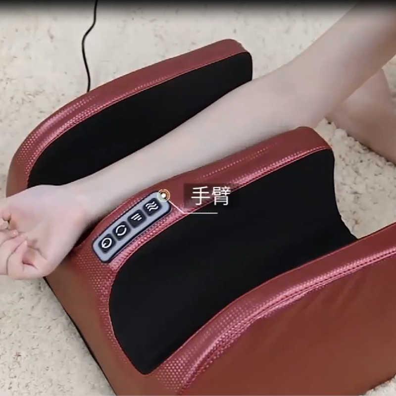 เท้าไฟฟ้า Massager Roller เครื่องนวดแฟชั่นหนัง Massager สำหรับ Infrared พร้อมความร้อน Shiatsu