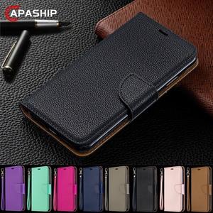 Flip Leather Wallet Case For R